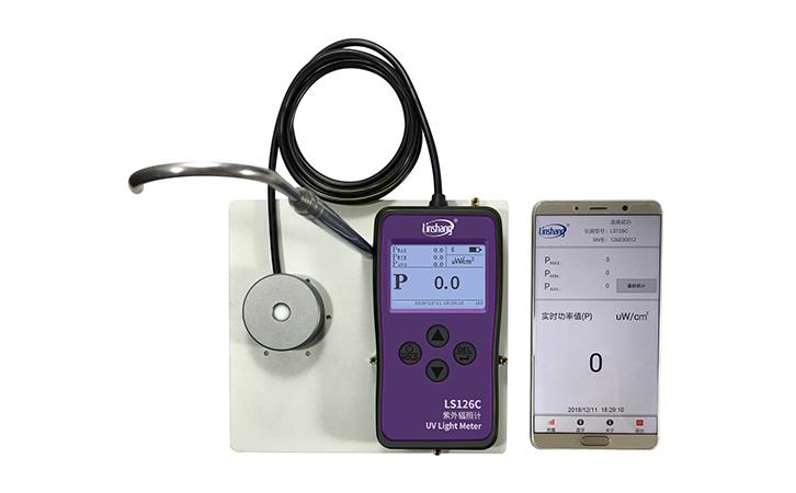 杀菌灯紫外辐照计手机APP功能