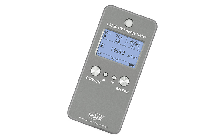 UV能量计停止测试界面