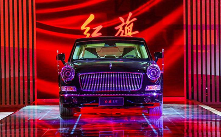 正文     在今年4月份的北京车展上,红旗亮相了新款l5定制版轿车,新车