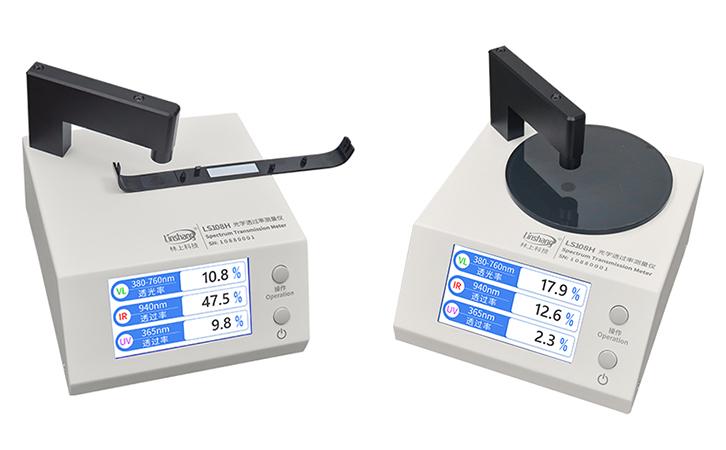 LS108H光学透过率测量仪实测