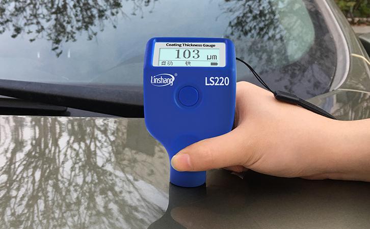 漆膜仪检测车漆厚度