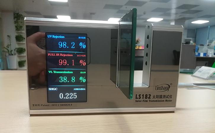 玻璃遮阳系数测试-太阳膜测试仪