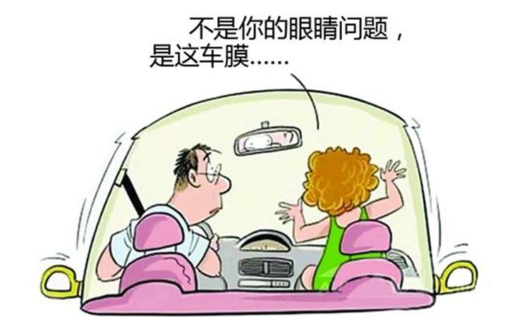 汽车前挡膜