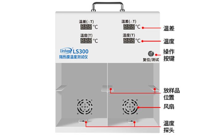 LS300隔热膜温度测试仪